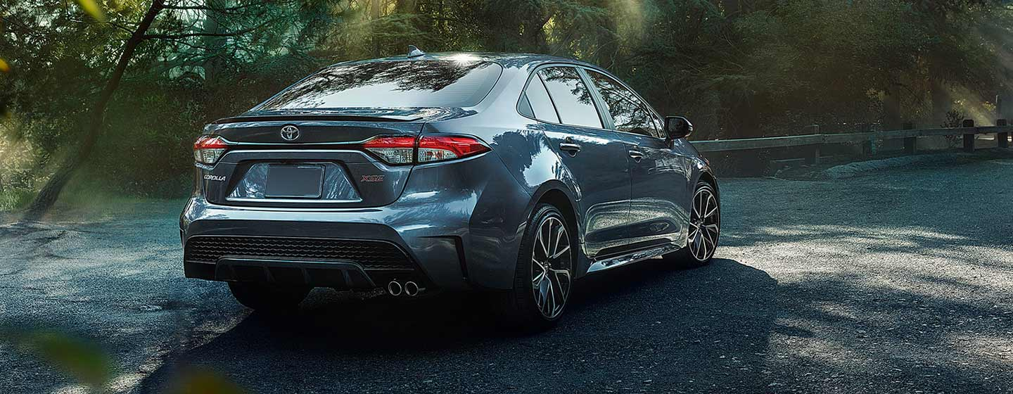 2020 Toyota Corolla rear view