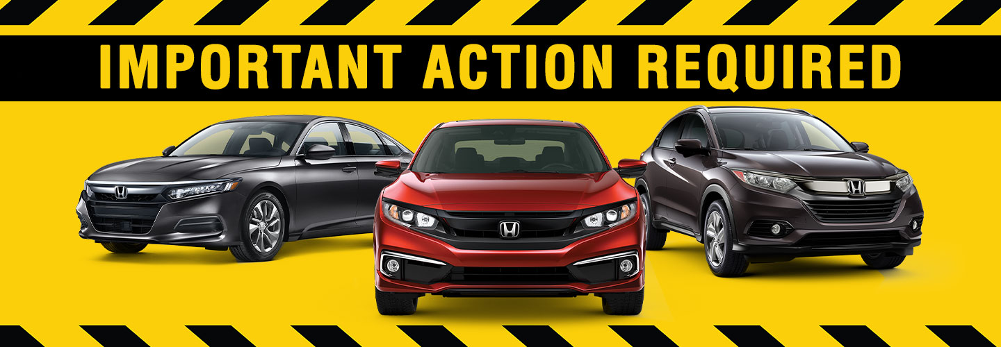 Your Honda Model May Be Subject To A Recall