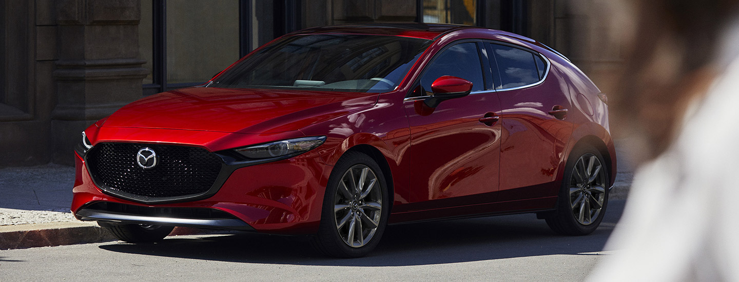 The 2019 Mazda3 is available at our Mazda dealership in Naples, FL.