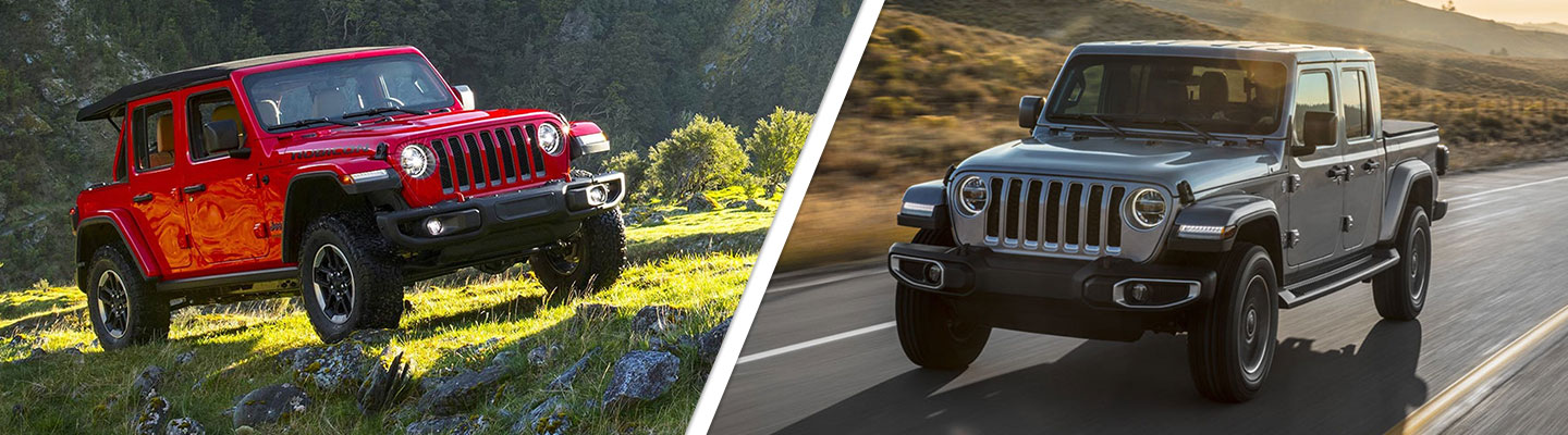 The new Jeep Gladiator and Wrangler are available at your local Jeep dealer in Mansfield Ohio.