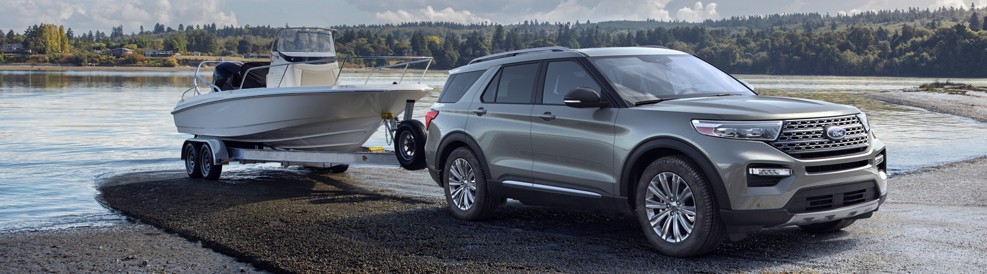 New Ford Explorer available at Marlow Ford in Luray Virginia