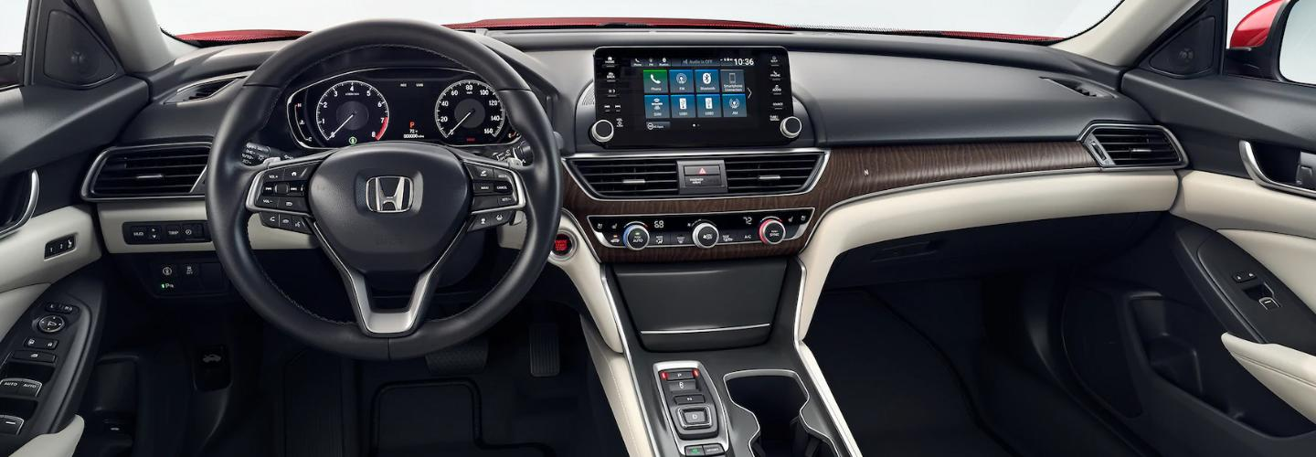 Interior features in the 2020 Honda Accord