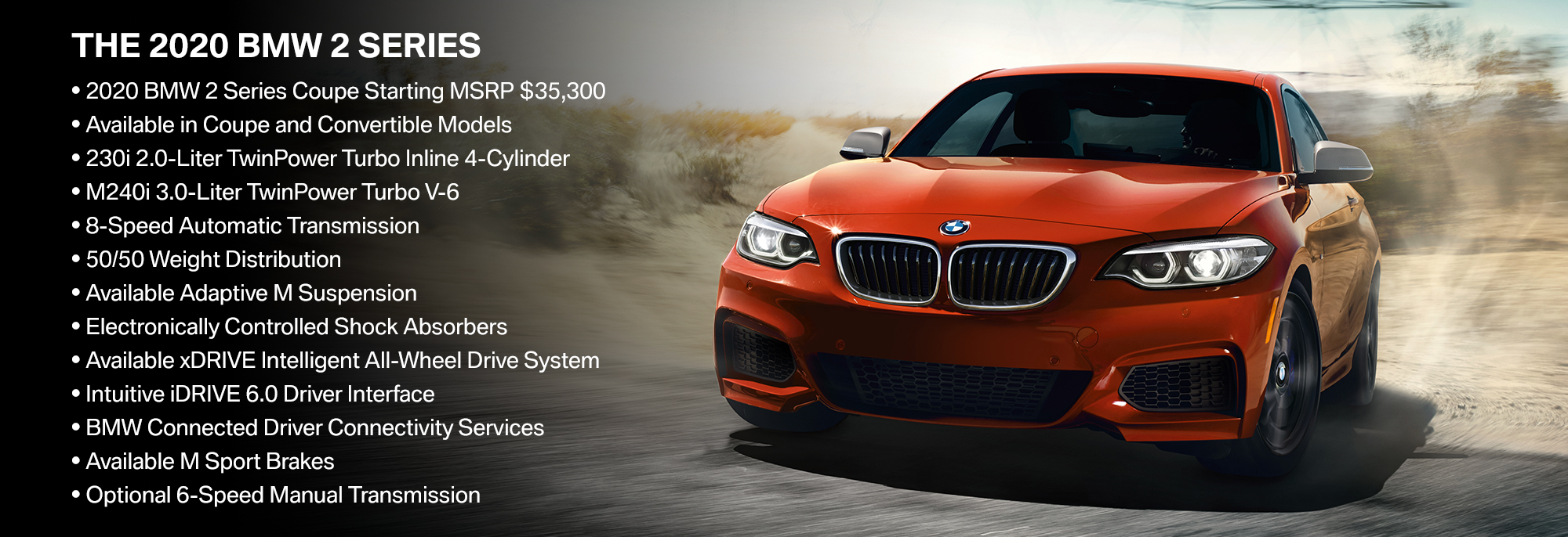 New 2020 BMW 2 Series Offer