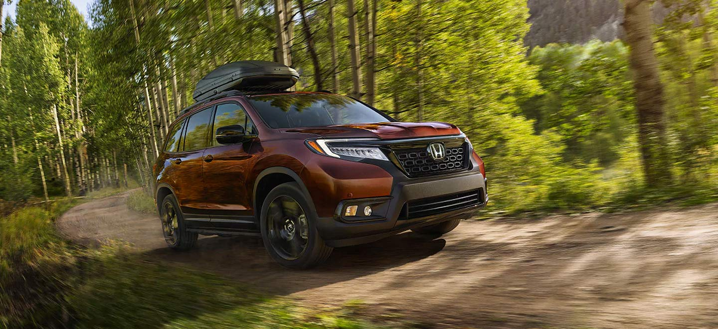 Picture of the 2019 Honda Passport for sale at Honda of Lake City dealership.