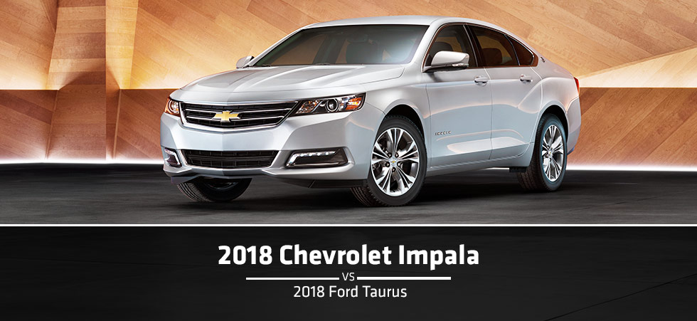 Ford Dealership Indianapolis >> The 2018 Chevy Impala Vs The 2018 Ford Taurus at Blossom Chevrolet