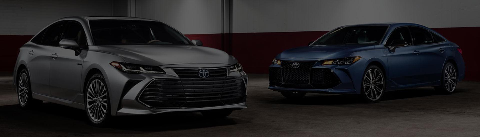 The 2018 Toyota Avalon Vs The 2018 Nissan Maxima at Rivertown Toyota in Columbus, GA
