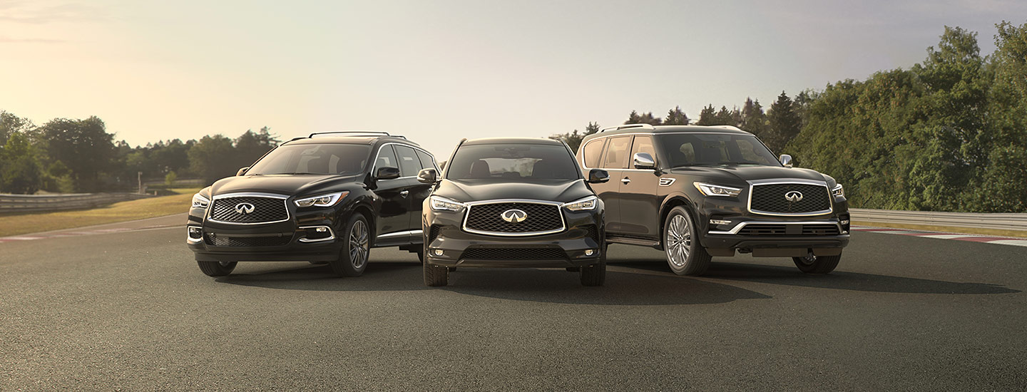 The INFINITI Vehicle Lineup available at our INFINITI dealership in Oklahoma City, OK.