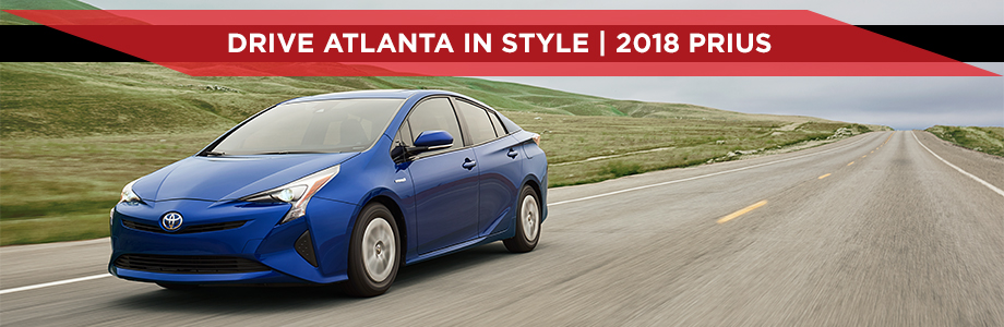 The 2018 Toyota Prius is available at World Toyota in Atlanta, GA