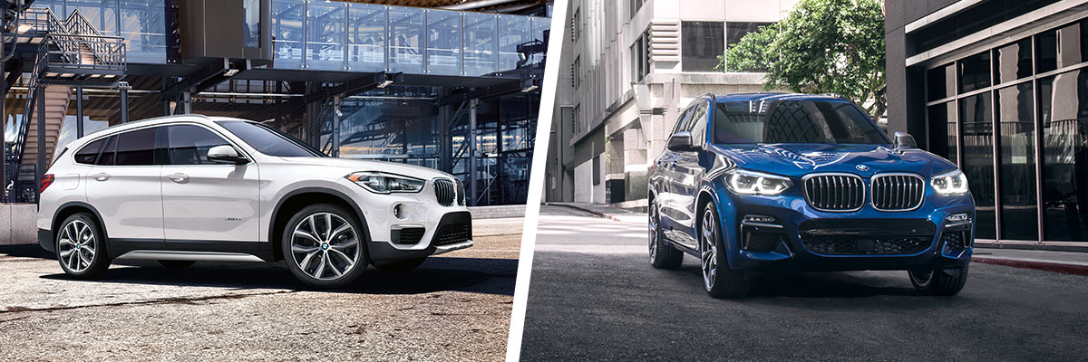 The 2018 BMW X1 and BMW X3 are available at Hilton Head BMW near Savannah, GA