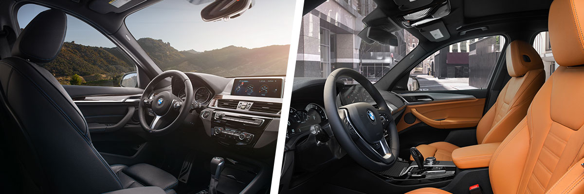 Safety features and interior of the 2018 BMW X1 and BMW X3 - available at Hilton Head BMW in Hilton Head near Bluffton, SC