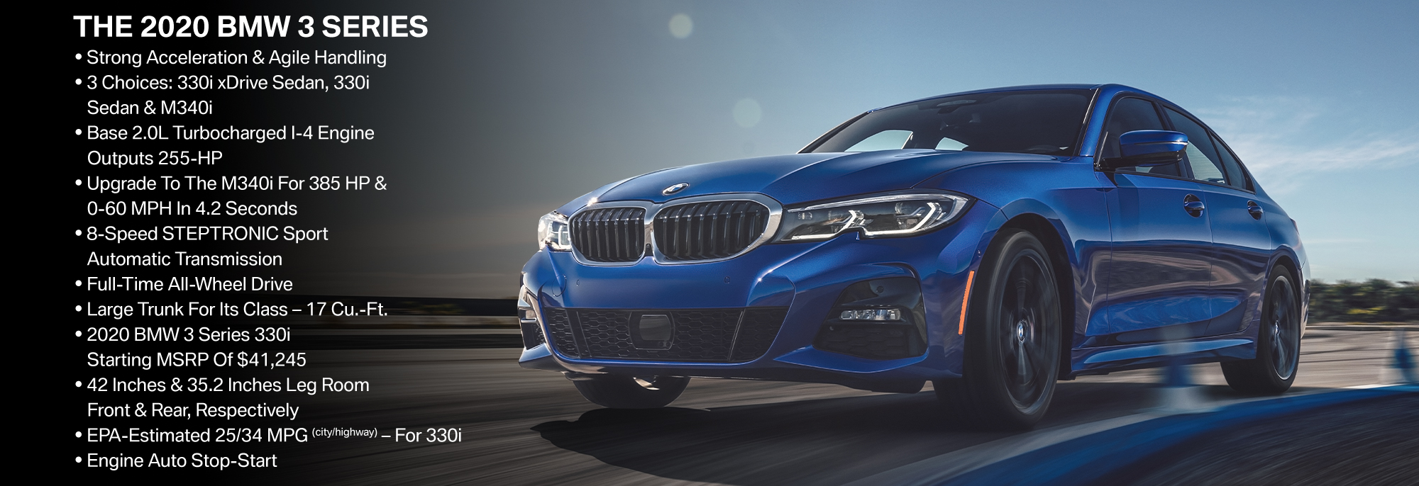 New 2019 BMW 3 Series Offer
