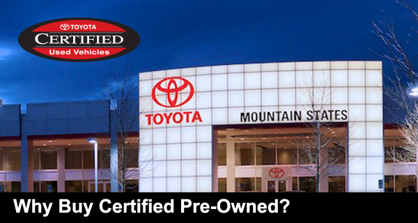 Why Buy Certified Pre-Owned?