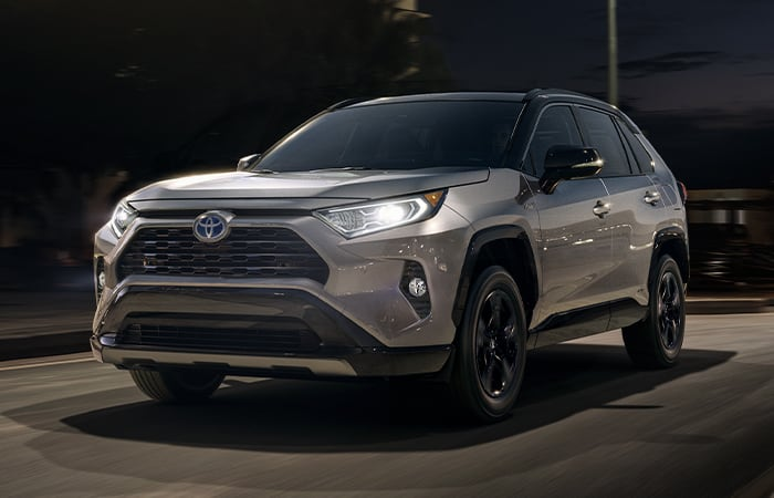 Front view of the 2020 RAV4