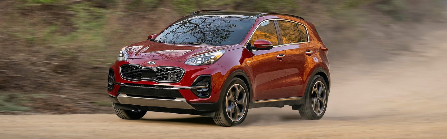 New 2020 Kia Sportage at Spitzer Kia Cleveland Ohio