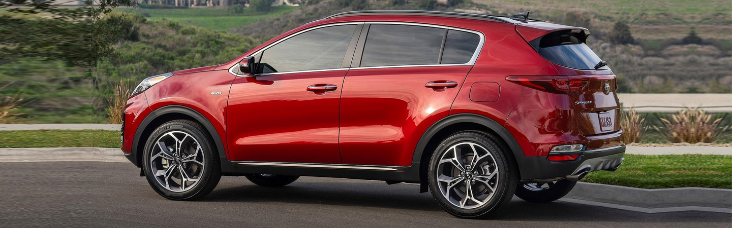 New 2020 Kia Sportage at Spitzer Kia