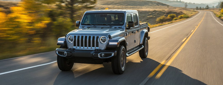 2020 Jeep Gladiator exterior