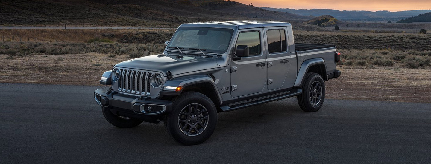 2020 Jeep Gladiator in motion