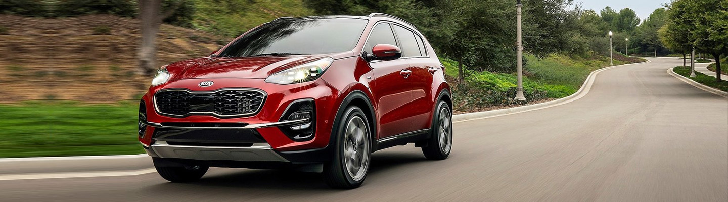 New 2020 Kia Sportage For Sale in Cleveland Ohio.