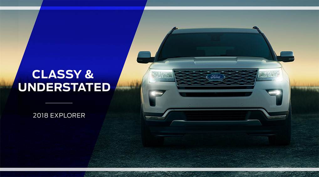 The 2018 Ford Explorer is available at Ford of Port Richey near Land O' Lakes, FL