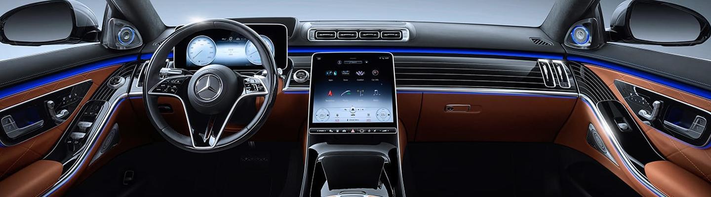 2021 Mercedes-Benz S-Class interior technology features