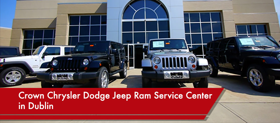 Crown Chrysler Dodge Jeep Ram Service Center in Dublin OH