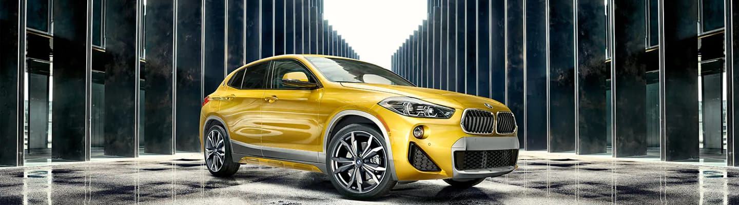 2019 BMW X2 Exterior – Gold – Wheels and Front End