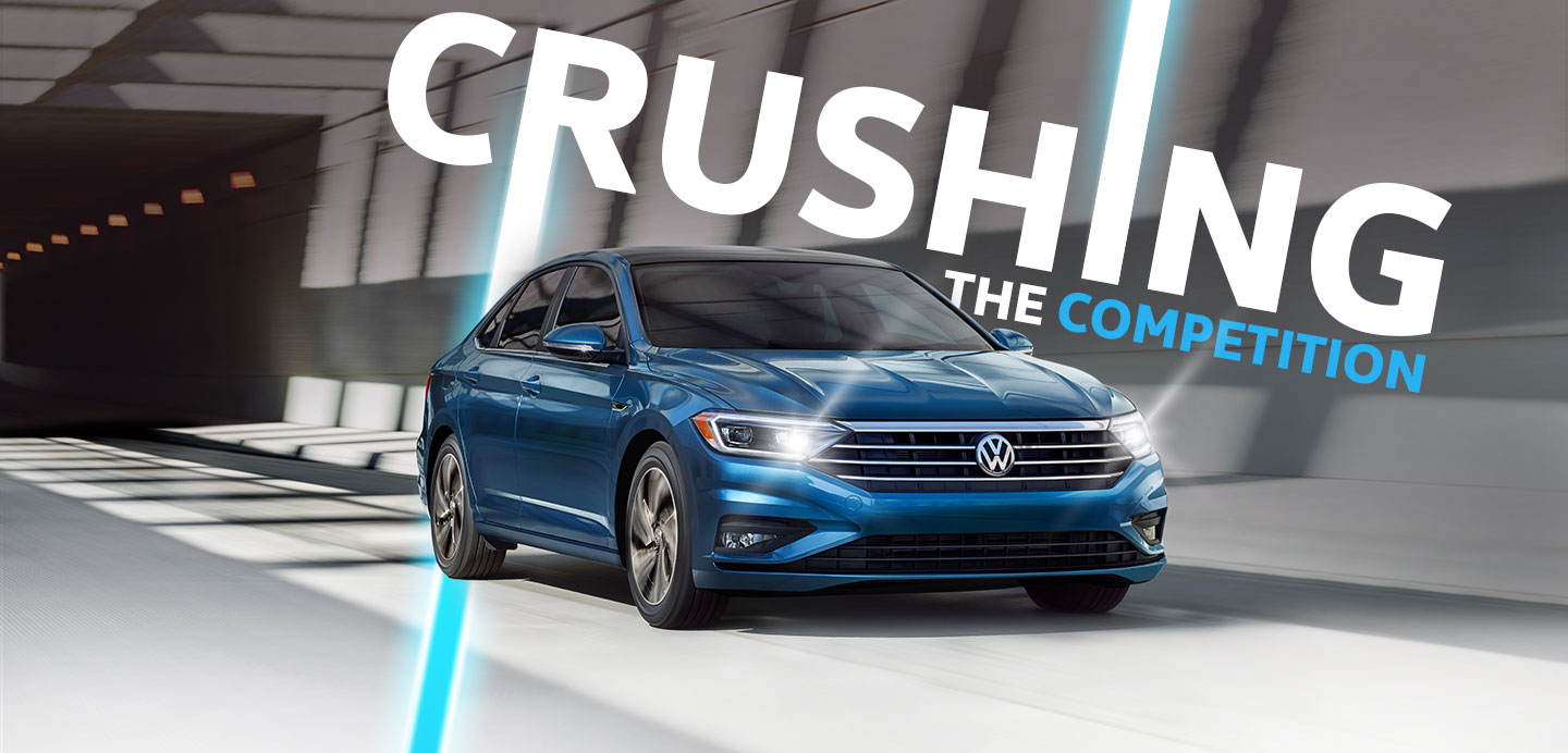 The 2019 VW Jetta is available at Vista VW in Pompano Beach, FL