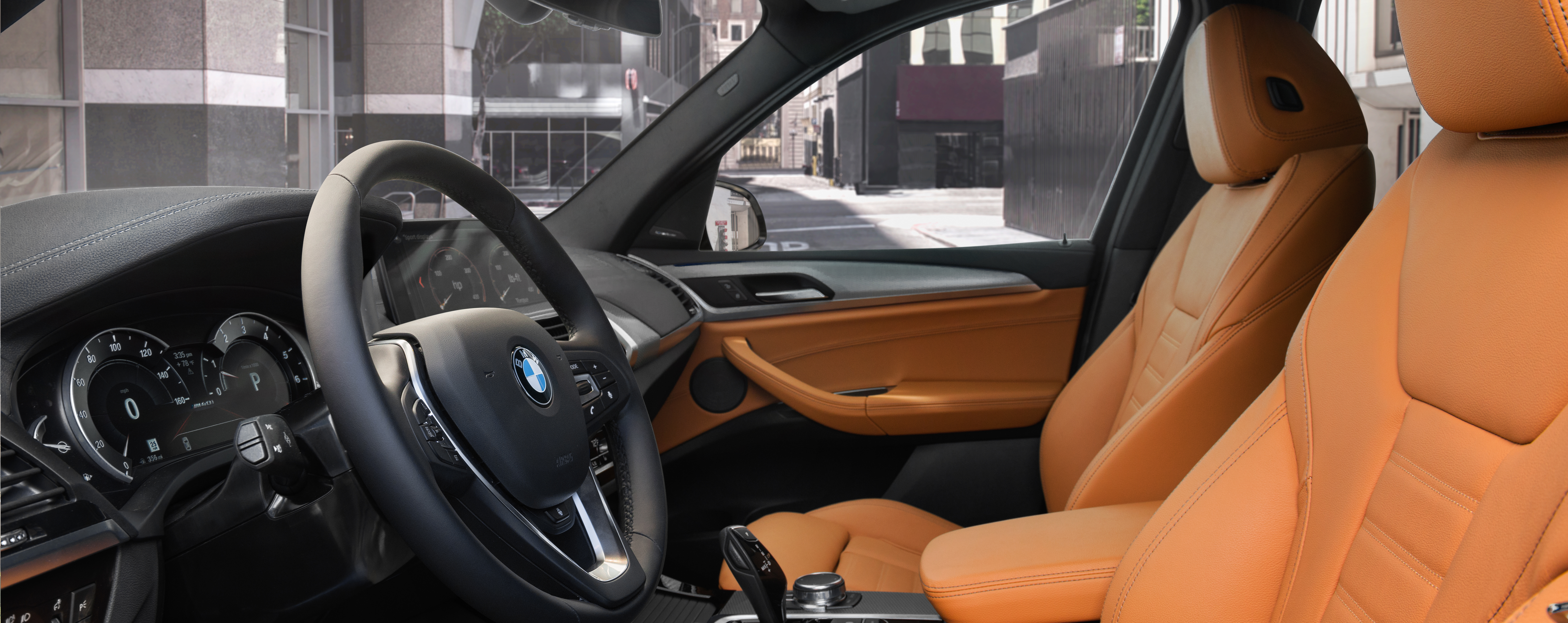 Safety features and interior of the 2018 BMW X3 and BMW X5 - available at BMW of Columbia near Lexington and Irmo, SC