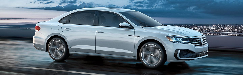 2020 VW Passat in motion