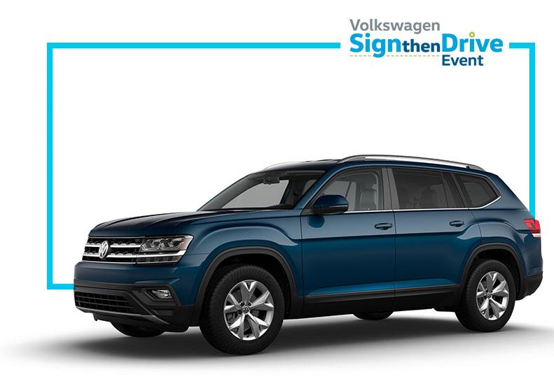 Volkswagen Atlas Lease Offers at Vista VW near Fort Lauderdale