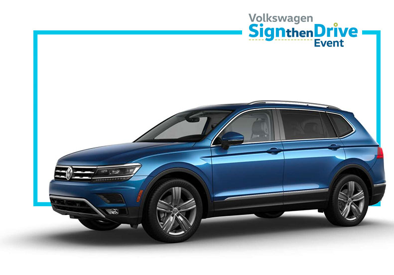 Volkswagen Tiguan Lease Offers at Vista VW near Fort Lauderdale