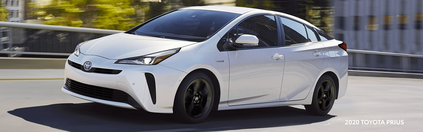 2020 Toyota Prius in motion