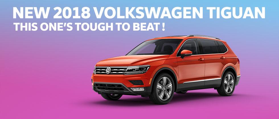 More Torque 2018 Volkswagen Tiguan Honda CR-V Nissan Rogue
