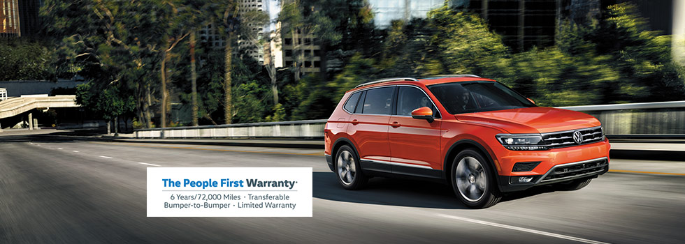 People First Warranty Volkswagen Tiguan Honda CR-V Nissan Rogue