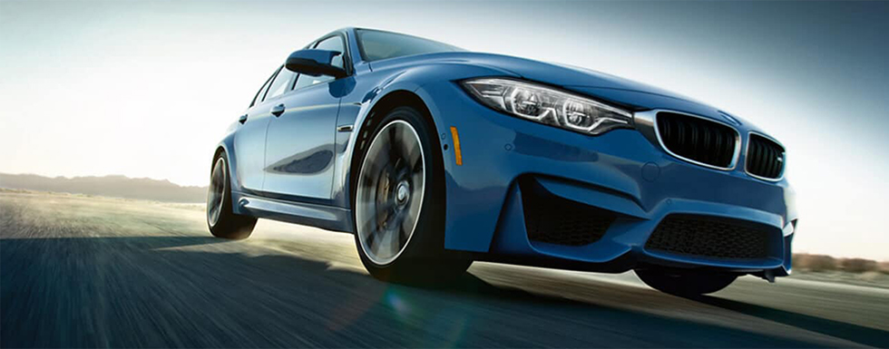 Exterior of the 2018 BMW M3 - available at our BMW dealership in Hilton Head, SC.