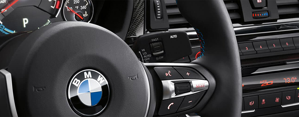 Safety features and interior of the 2018 BMW M3 - available at our BMW dealership