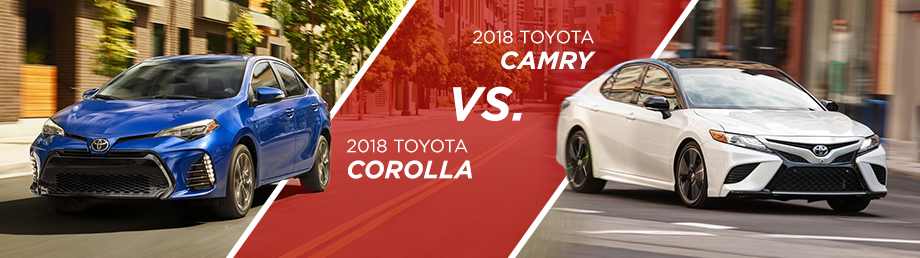 The 2018 Toyota Camry and The 2018 Toyota Corolla are available at World Toyota in Atlanta,GA