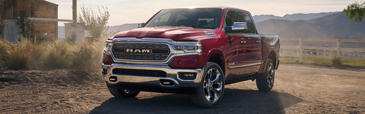 New Ram 1500 for sale at Spitzer Motors in Mansfield Ram dealership.