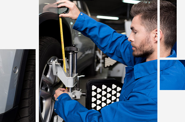 Ford Wheel and Tire Alignment Service at your preferred Ford Dealership in Oklahoma City, OK
