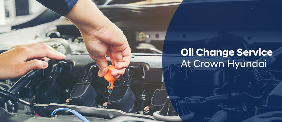 Oil Change Service available at Crown Hyundai in St. Petersburg, FL