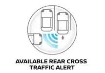 Available Rear Cross Traffic Alert
