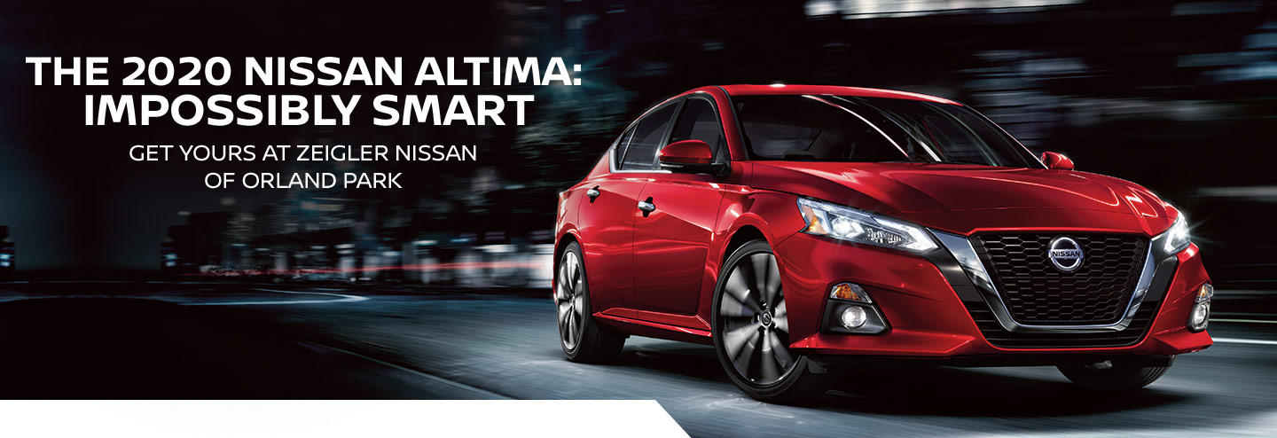 The 2020 Nissan Altima: Impossibly Smart | Get yours at Zeigler Nissan of Orland Park