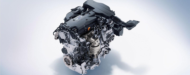 Engine of the 2018 Honda Accord