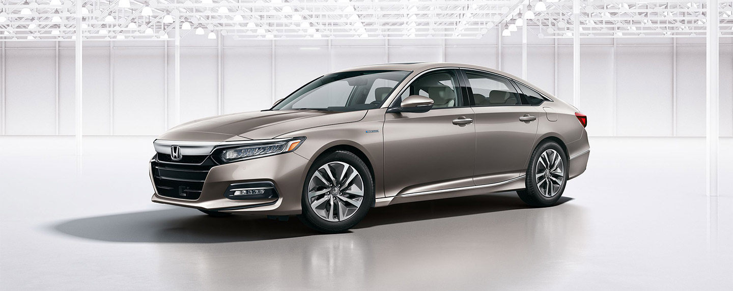 Front left of the 2018 Honda Accord