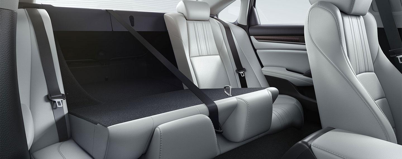Interior storage of the 2018 Honda Accord