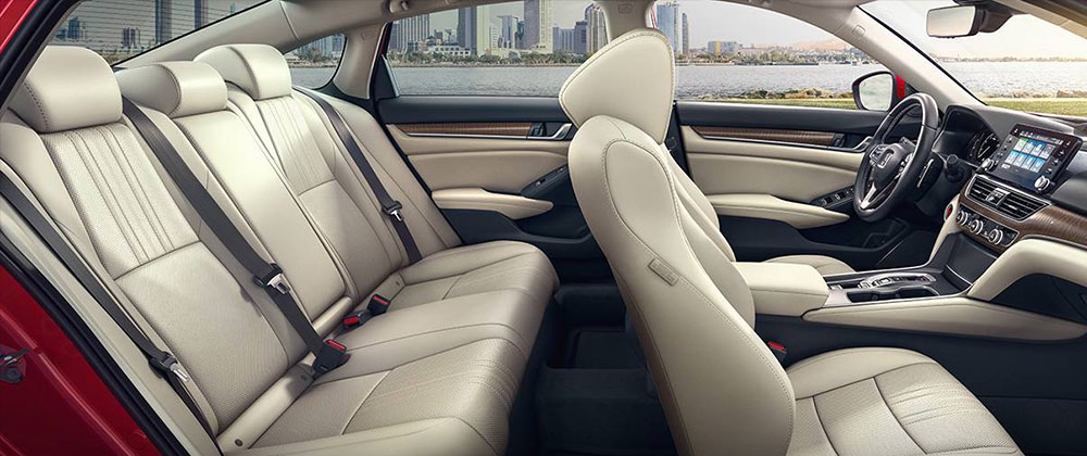 Safety features and interior of the 2018 Honda Accord - available at South Motors Honda in South Florida