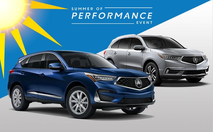 New 2019 Acura RDX or MDX