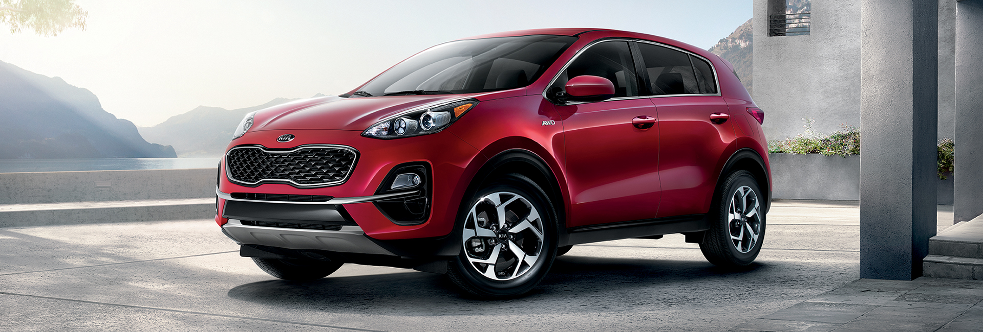 Picture of the Kia sportage