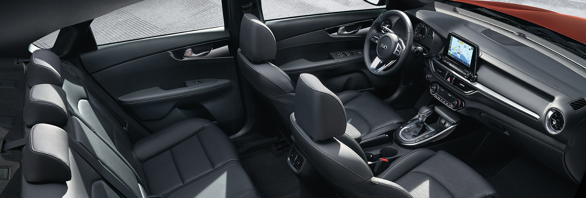 Interior image of the 2020 Kia Sportage