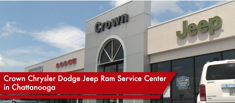 Chrysler Dodge Jeep Ram Service Center in Chattanooga serving Ringgold GA, East Ridge TN and Soddy-Daisy TN.